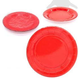 Pack de Platos Grandes de Colores Color: rojo, rosa