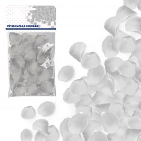 Pétalos de Color Blanco  Pétalos y cofetis para Bodas