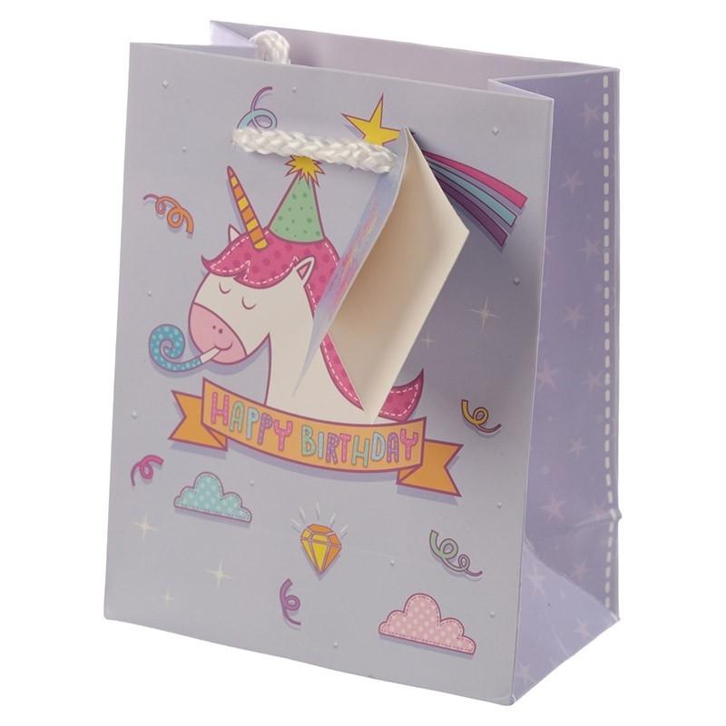 Bolsitas de Unicornio  Bolsas Cumpleaños