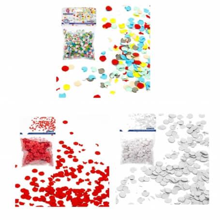 Confeti Eventos Color: rojo, blanco, multicolor Pétalos y