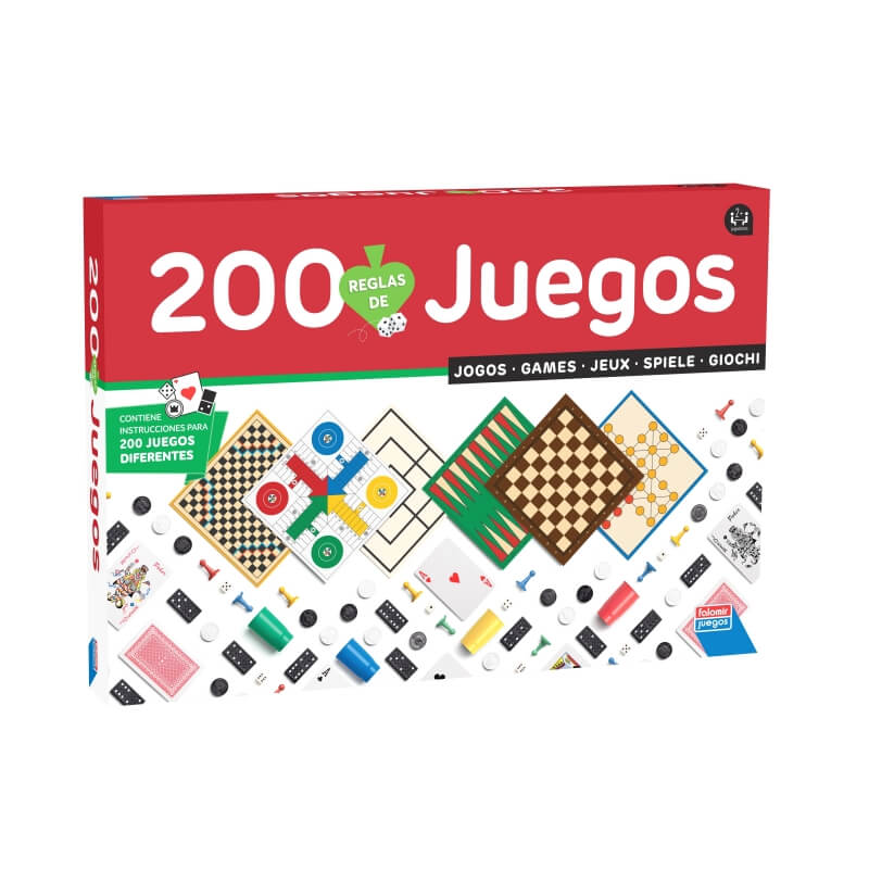 200 Juegos Reunidos  Juegos de Mesa
