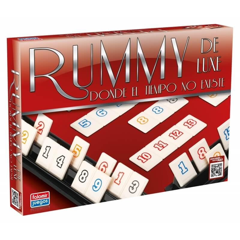 Juego Rummy De Luxe Comprar Juegos De Mesa Juguetes 18 10