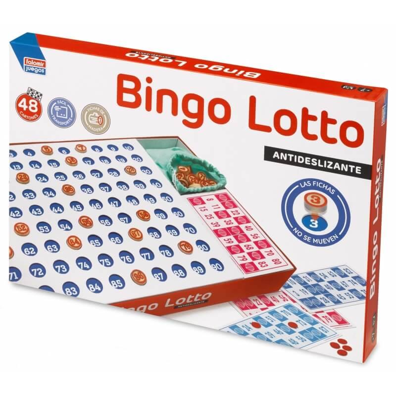 Bingo Lotto Juego de Mesa  Juego