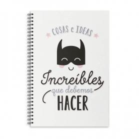 Libretas superheroes