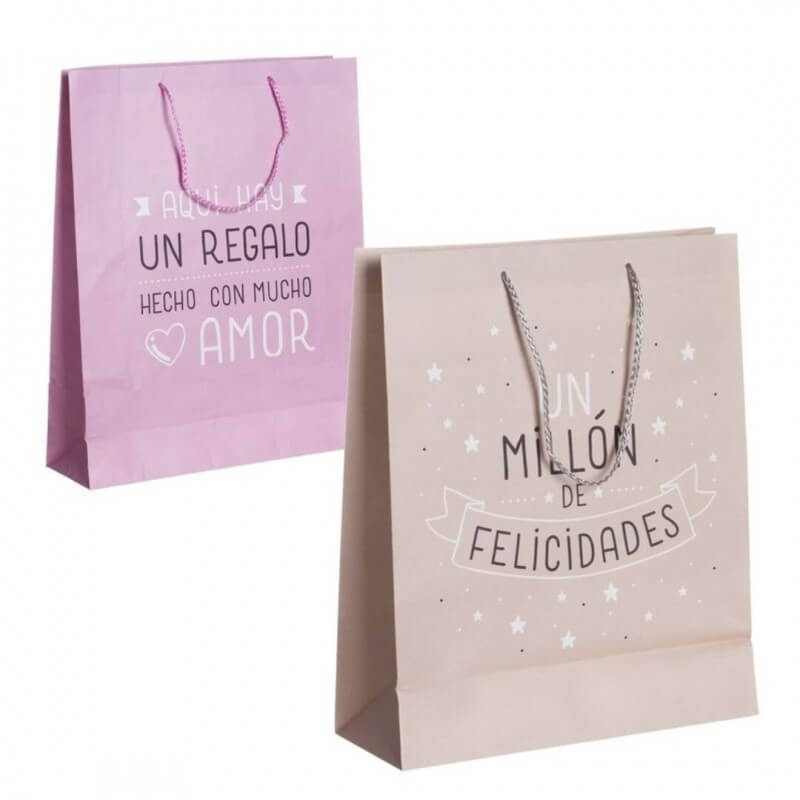 Bolsa de regalo original mediana  Bolsas Papel
