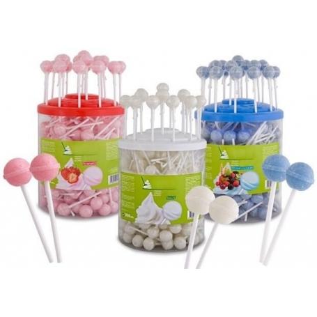 Golosinas mesa dulce Color: azul, blanco, rosa Detalles Dulces