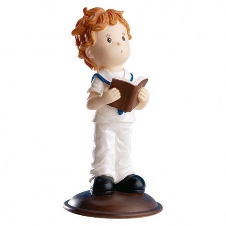 Figura Niño Comunion Biblia Figuras Tarta Necesarios Comunión