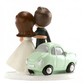 Figura novios coche Figuras Tarta Necesarios Boda