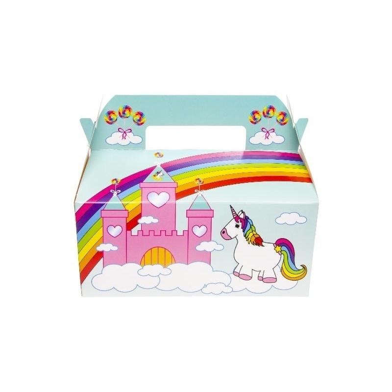 Caja regalo unicornio Cajas Envoltorios