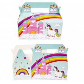 Caja regalo unicornio