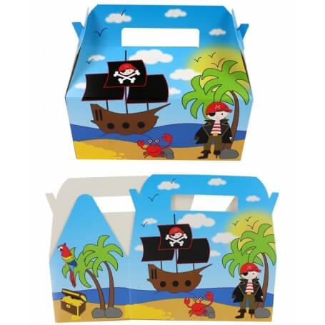 Caja piratas
