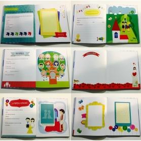 Libro huellas comunión Complementos Necesarios Comunión