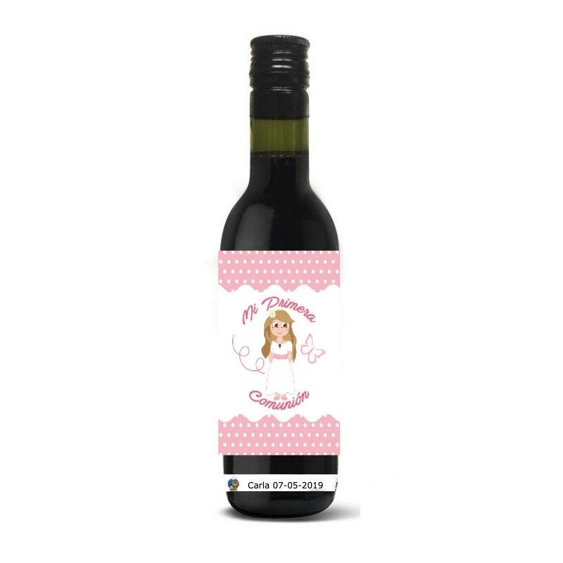 Botella Vino Regalo Comunión