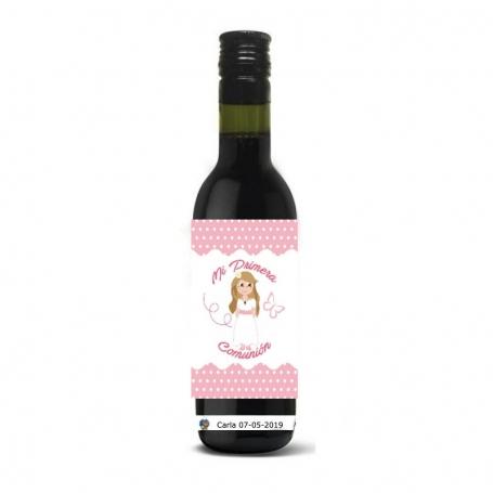 Botella Vino Regalo Comunión Regalos y detalles para invitados