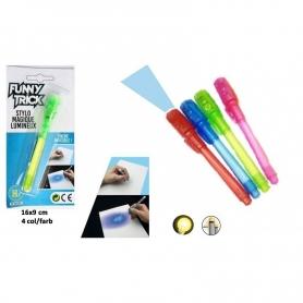 Bolígrafo invisible niños