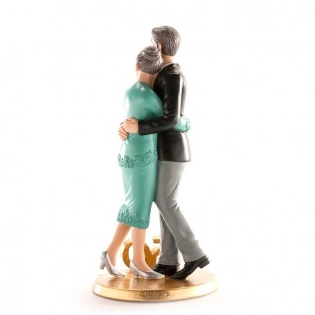 Figura Tarta Novios Bodas Oro Figuras Tarta 25 y 50 Aniversario