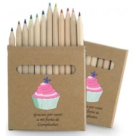 Lápices de Colores para Cumpleaños
