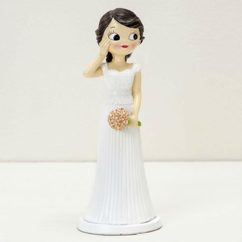 Muñeca tarta boda