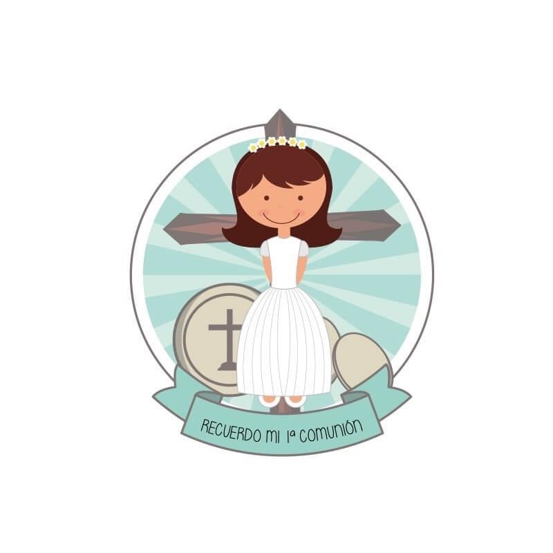 Communion sticker