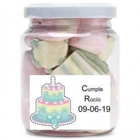 Custom sweets jar