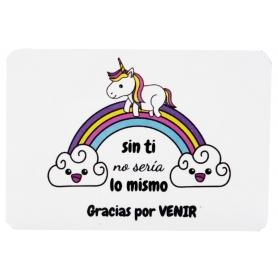 Imán unicornio