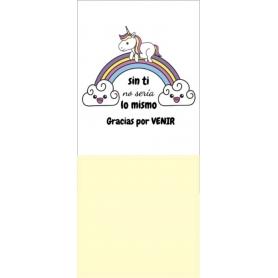 Notas adhesivas unicornio