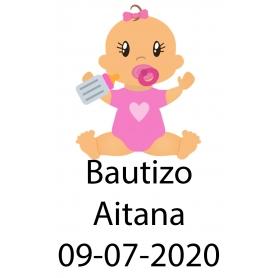 Adhesivo Bautizo
