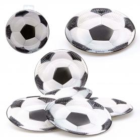 Pack de platos fútbol