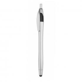 Bolígrafo puntero plata