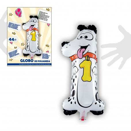 Globos de Numero de Animales Globos Decorativos para Cumpleaños