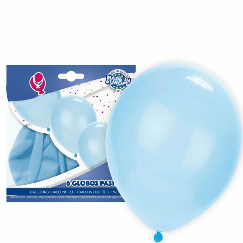 Pack globos azul celeste Globos Decoración Comunión Decoraciones