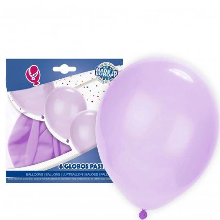 Globos lila pastel pack Globos Decoración Comunión Decoraciones