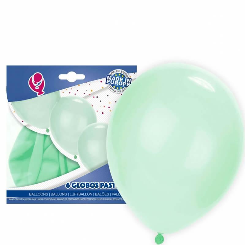 Globos verde pastel pack Globos Decoración Comunión Decoraciones