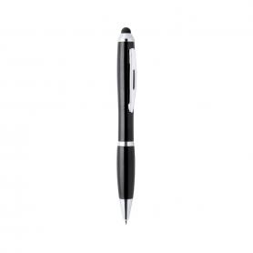 Bolígrafo negro con puntero