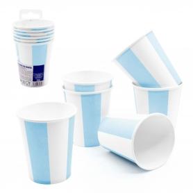 Pack vasos desechables azul