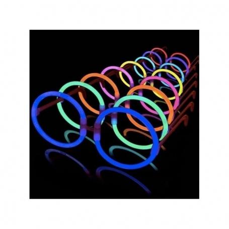 Gafas luminosas hippie