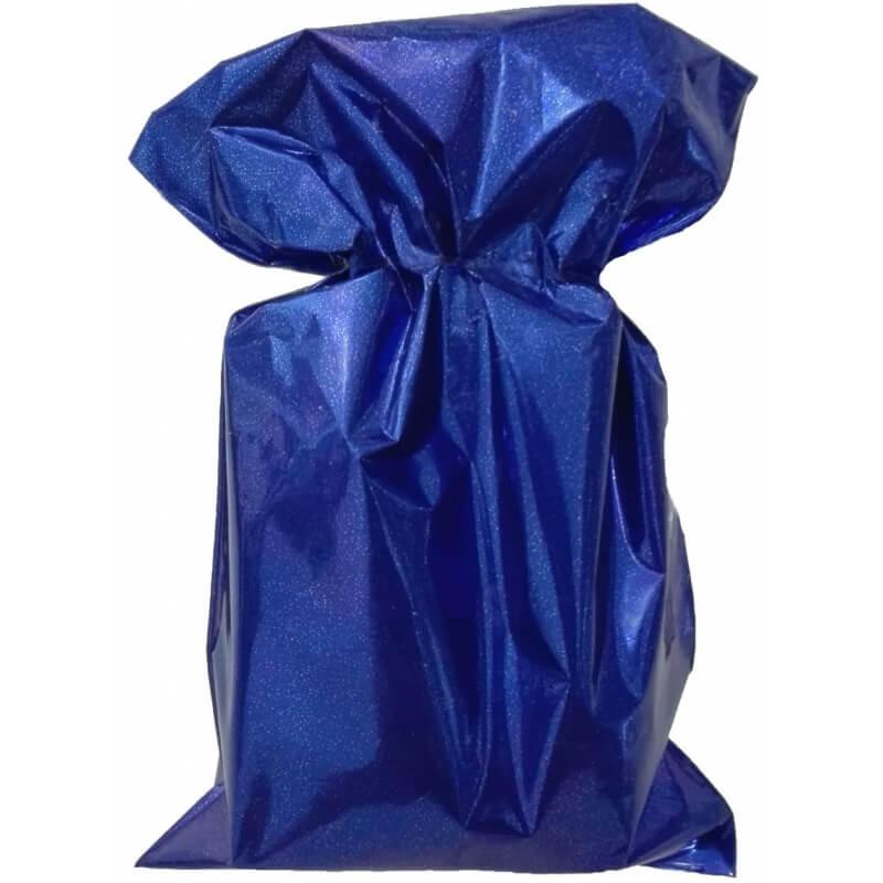 Bolsa metalizada azul