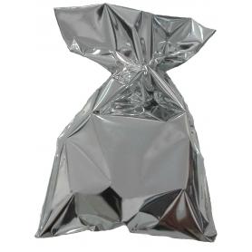 Bolsa metalizada plata