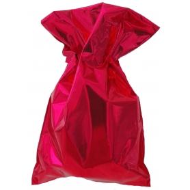 Bolsa metalizada roja