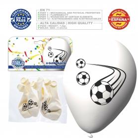 Pack globos fútbol