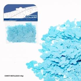 Pack confeti carrito azul