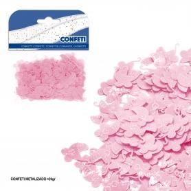 Confeti carrito rosa
