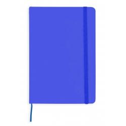 Bloc de notas azul