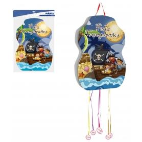 Piñata cumpleaños pirata