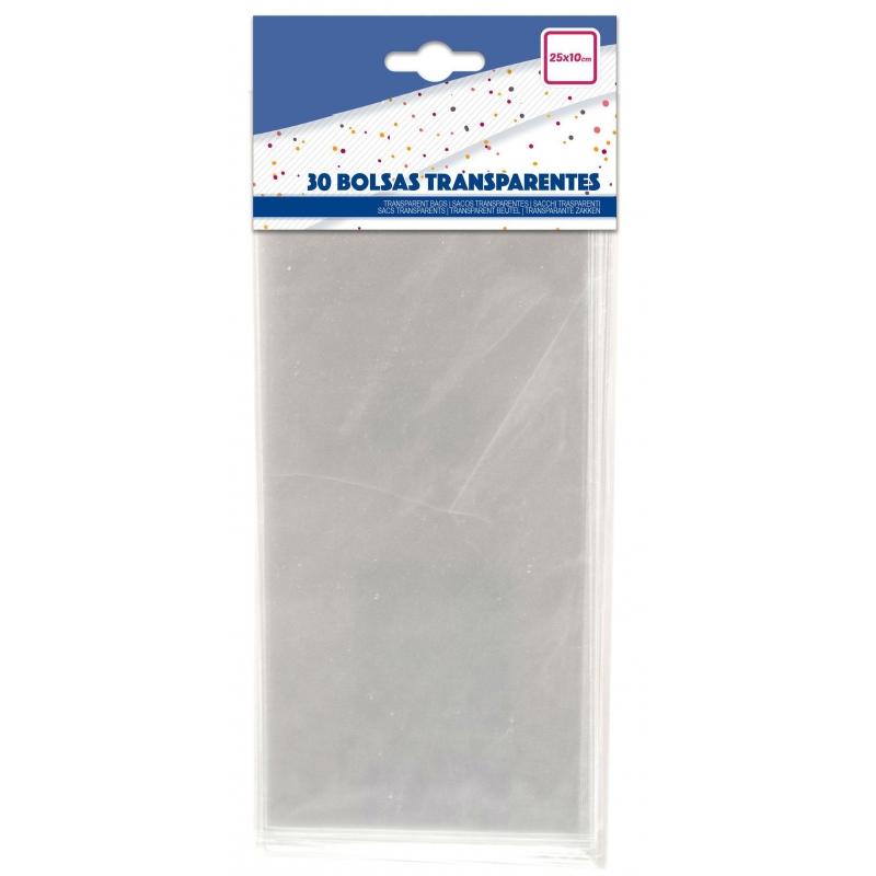 Pack bolsas transparentes