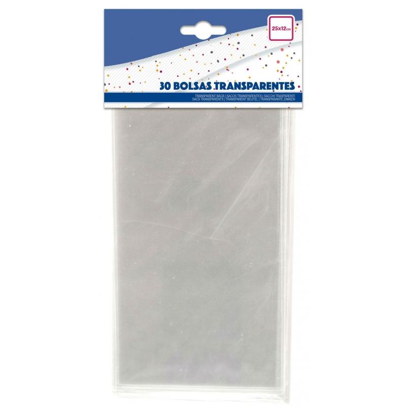 Pack bolsa chuches transparentes