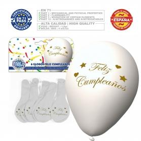 Pack globos cumpleaños