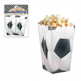 Pack caja palomitas fútbol