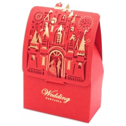 Caja regalo roja