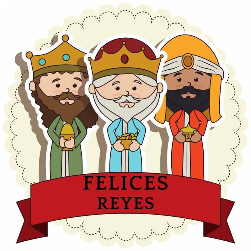 Decoración Reyes magos